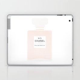 pink and gold perfume Laptop & iPad Skin