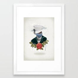 Broken Hearts Framed Art Print