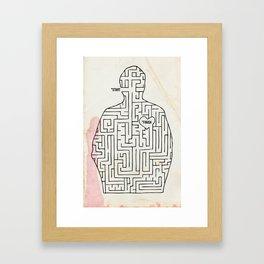 mazey Framed Art Print