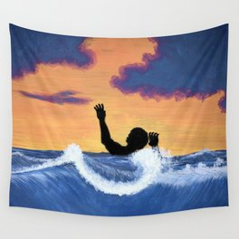 Pressured Wall Tapestry