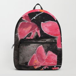 Orchid Ink Painting Backpack
