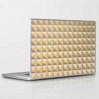 pyramid Laptop & iPad Skins featuring pyramid by Ioana Luscov