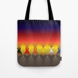 Night Tipi Tote Bag