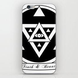 Truth and Beauty iPhone Skin