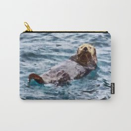 Happy Otter Carry-All Pouch