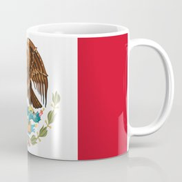 mexican sports fan mexico flag Coffee Mug