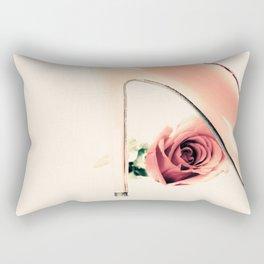 Pink Heel (Retro and Vintage Still Life Photography) Rectangular Pillow