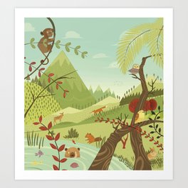 Nature´s Song Art Print