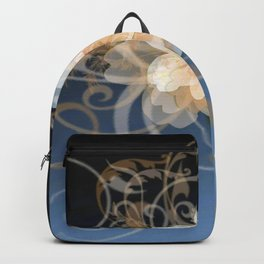 Beautiful Abstract Floral Backpack