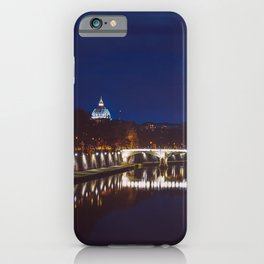Rome by night iPhone Case