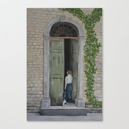 Going In and Out Canvas Print