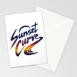 SUNSET CURVE - JULIE AND THE PHANTOMS Stationery Cards