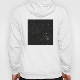 Space - Stars - Starry Night - Black - Universe - Deep Space Hoody