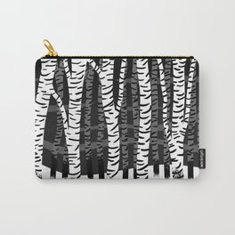 Zebra Trees 04 Carry-All Pouch