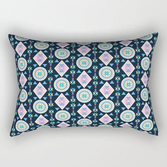Dancing Diamonds By Everett Co Rectangular Pillow
