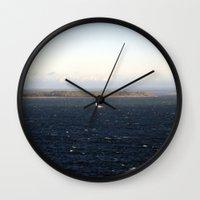 sailing Wall Clocks featuring sailing. by zenitt