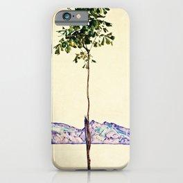 Egon Schiele -Little Tree iPhone Case
