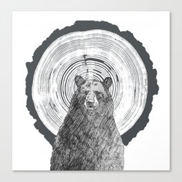 Ring Bearer -Black Canvas Print
