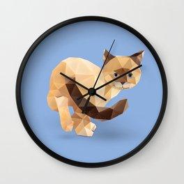 Balinese Cat Wall Clock