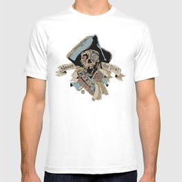 One Eyed Willy Never Say Die - The Goonies T-shirt