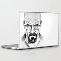 walter white Laptop & iPad Skins featuring Walter White by 13 Styx