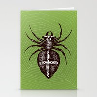 spider Stationery Cards featuring Spider by Bwiselizzy