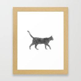Dust kitten Framed Art Print
