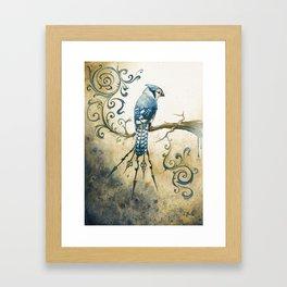 Something Borrowed, Something Blue Framed Art Print