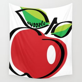 Apple Swoozle Wall Tapestry