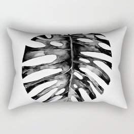 Minimal Monstera Rectangular Pillow