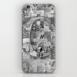 The Letter C iPhone Skin