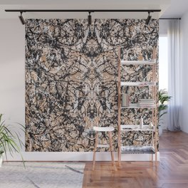 Reflecting Pollock Wall Mural