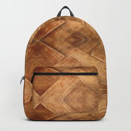 Wooden Table (pattern) Backpack