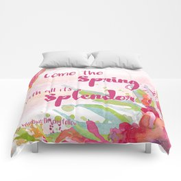 Come the Spring Longfellow Comforters