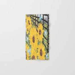 Sunflowers and Butterflies Hand & Bath Towel