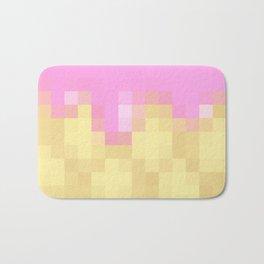 Pixel Ice-Cream Treat for Gamers Bath Mat
