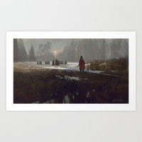 The Gathering Art Print