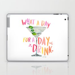 What a Day for a Day Drink – Melon Typography Laptop & iPad Skin