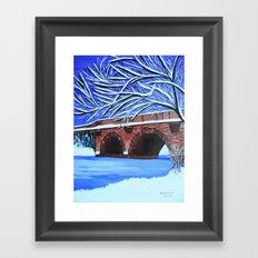 Stone bridge 2 Framed Art Print