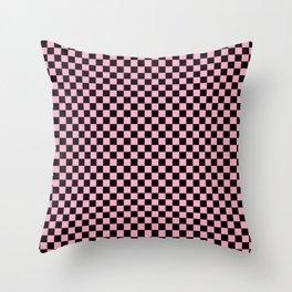 Checkered Checker Board Throw Pillow