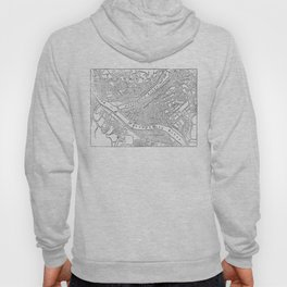 Vintage Map of Pittsburgh (1885)  Hoody