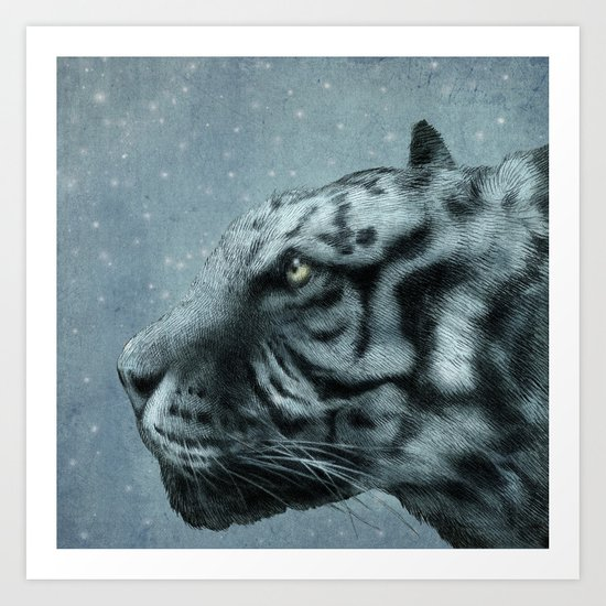Richard Parker  Art Print