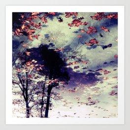 Tree and Fall Art Print