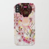 japanese iPhone & iPod Cases featuring Japanese by Felicia Cirstea