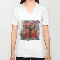 anatomy V-neck T-shirts featuring anatomy by kumpast