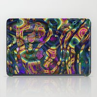 wild things iPad Cases featuring Wild Things by RingWaveArt