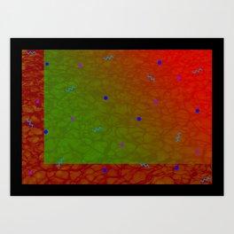 Pool Pattern Art Print