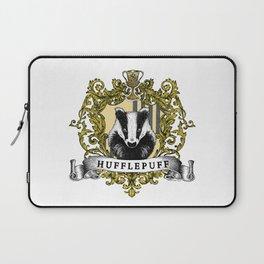 Hufflepuff Color Crest Laptop Sleeve
