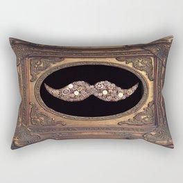 old mustache  Rectangular Pillow
