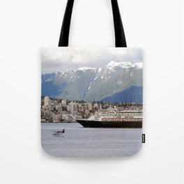 Vancouver Harbour - Canada Tote Bag